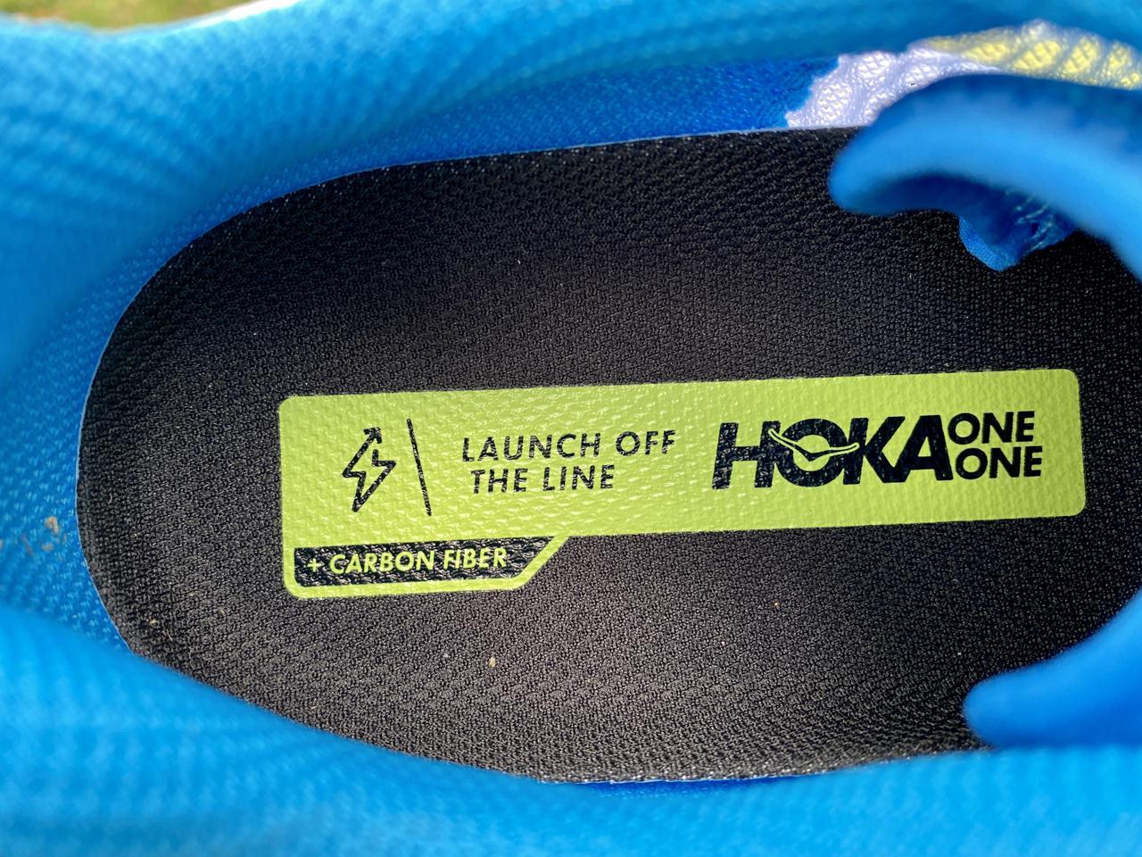 Hoka One One Rocket X - Inside