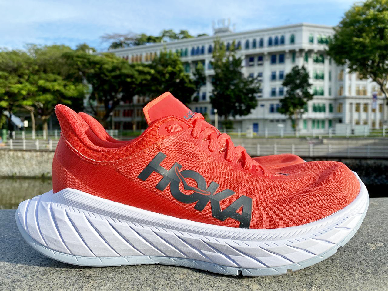 Hoka One One Carbon X 2 - Lateral Side