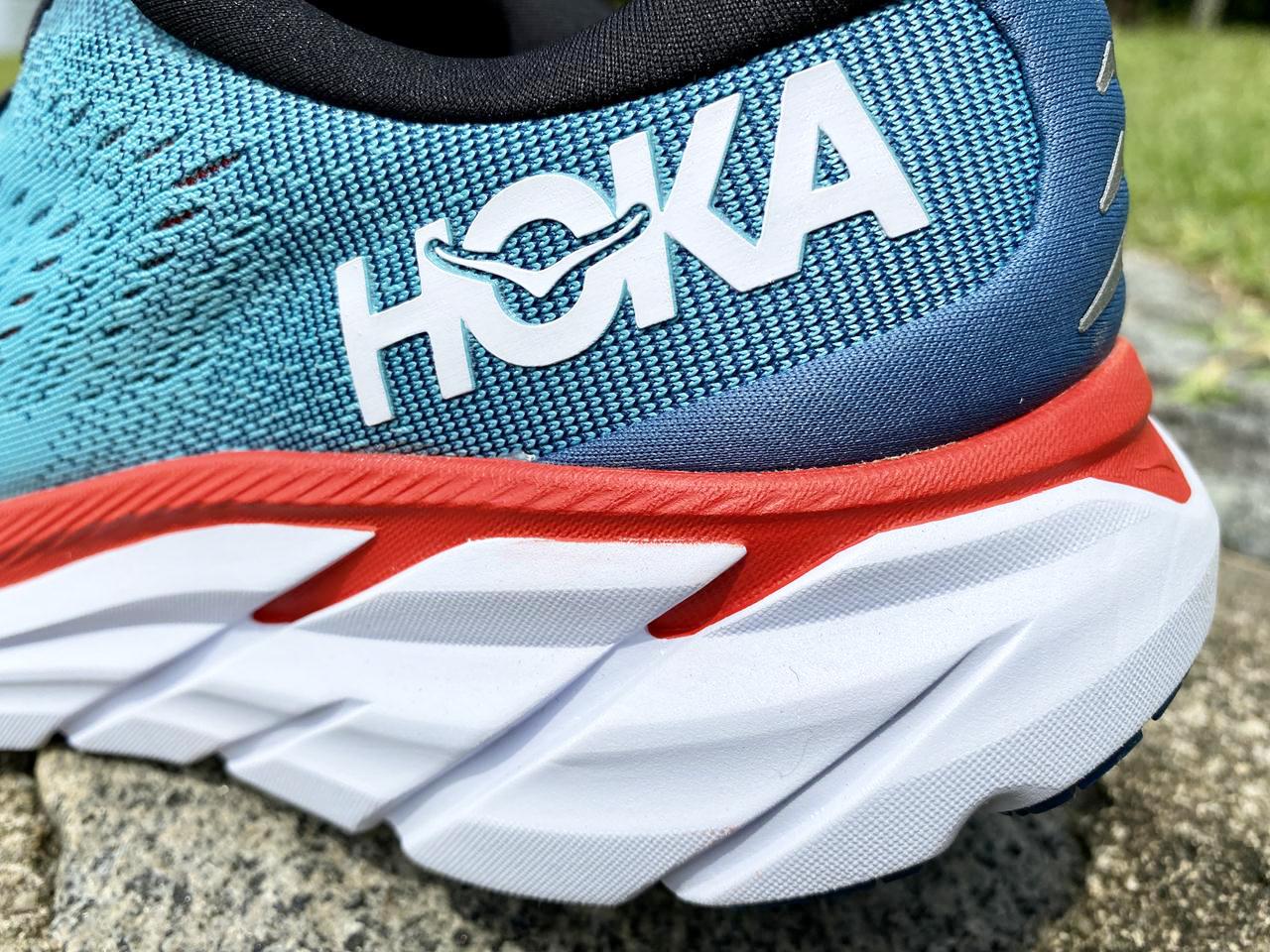 Hoka One One Clifton 8 - Heel Closeup