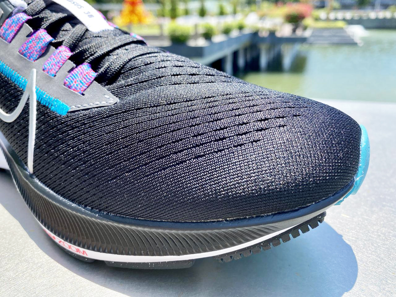 Nike Zoom Pegasus 38 - Closeup Toe