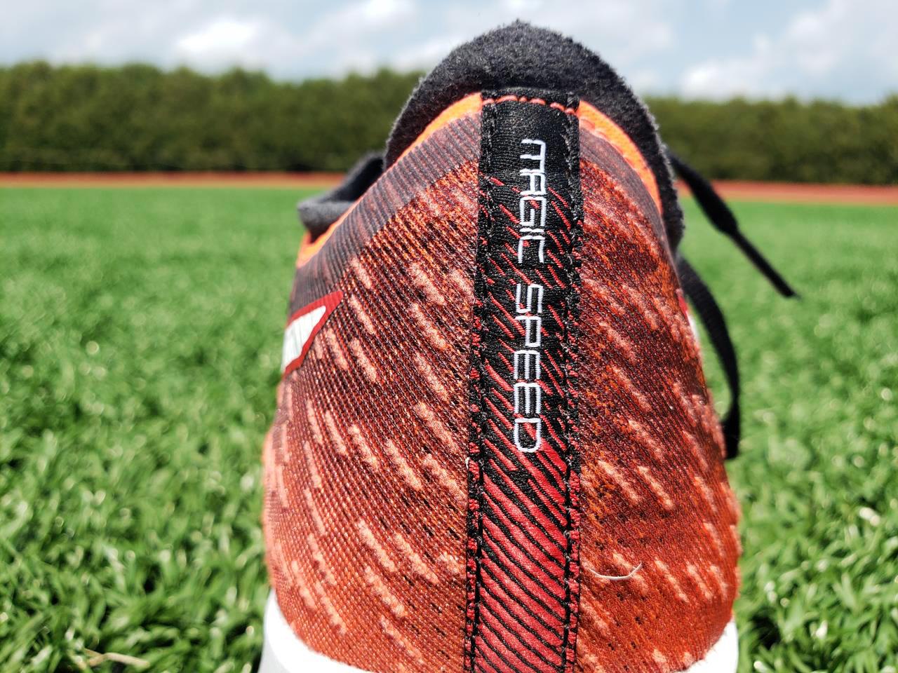 Asics Magic Speed - Heel Closeup